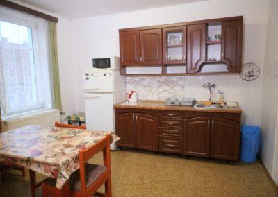 Čtyřlůžkový pokoj - kuchyň